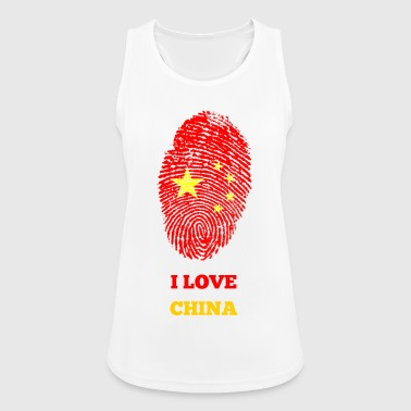 I LOVE CHINA - Women's Breathable Tank Top