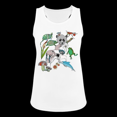 Net of Nature - Tank top damski oddychający