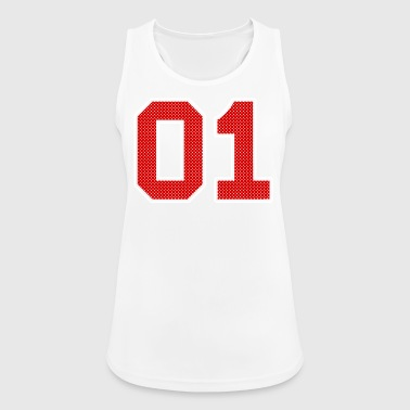 Number 01 Number Number - Women's Breathable Tank Top