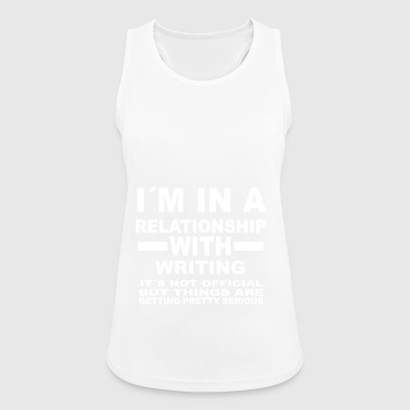 relationship with WRITING - Women's Breathable Tank Top