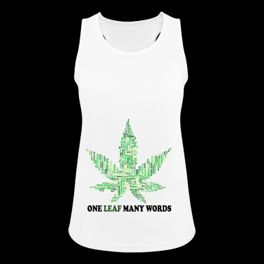 Smoke weed everyday - Women's Breathable Tank Top