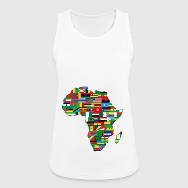 Africa Unite - Women's Breathable Tank Top