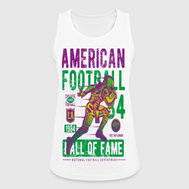 American Football - Frauen Tank Top atmungsaktiv