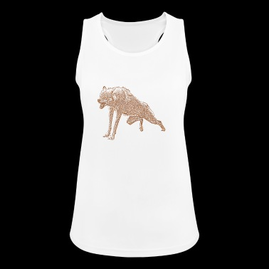 Aggressive Wolf - Women's Breathable Tank Top