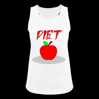 diet - Women's Breathable Tank Top