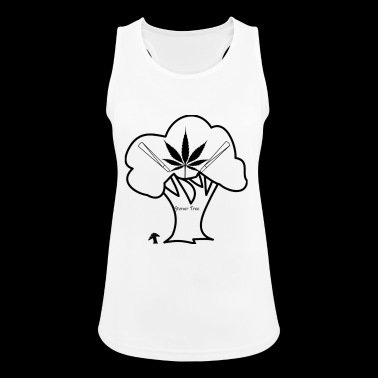 Stoner Tree - Women's Breathable Tank Top