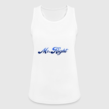 Mr. Right - Women's Breathable Tank Top