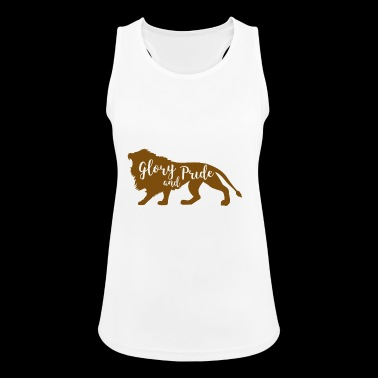 Lion - Silhouette - Women's Breathable Tank Top
