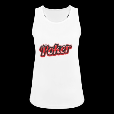 poker - Frauen Tank Top atmungsaktiv