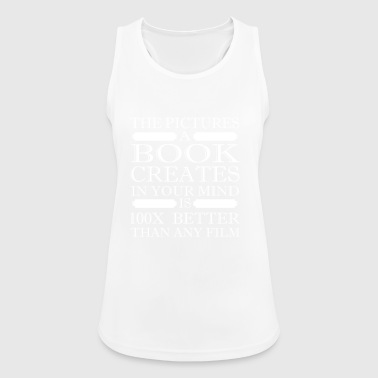 Book books reading bookworm hobby gift reader - Women's Breathable Tank Top