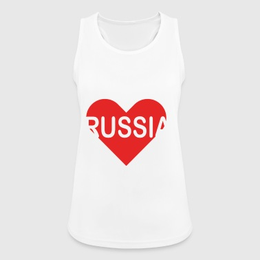 I love RUSSIA - Women's Breathable Tank Top