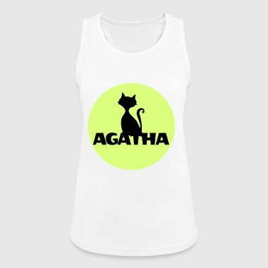 Agatha Name First name Name Motif name day - Women's Breathable Tank Top