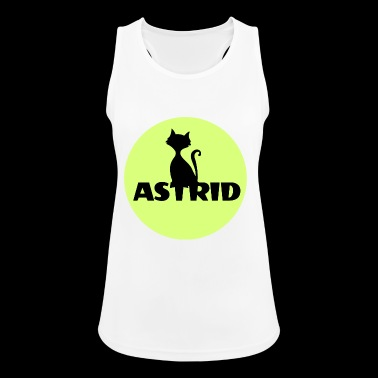 Astrid name cat full moon name day - Women's Breathable Tank Top