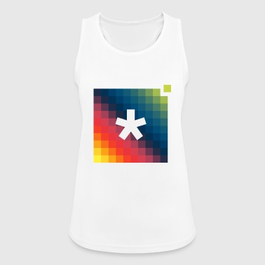 asterisk pixel t-shirt - Women's Breathable Tank Top