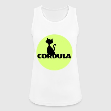 Cordula Name First name - Women's Breathable Tank Top