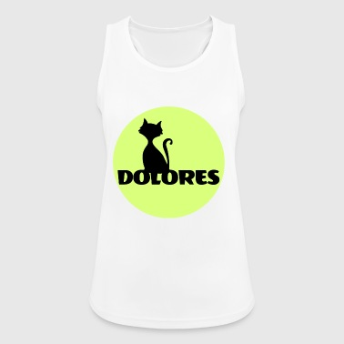 Dolores Name First name - Women's Breathable Tank Top