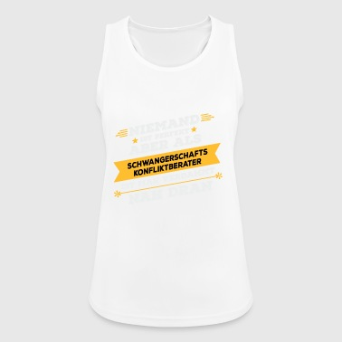 Pregnancy Conflict Counselor - Women's Breathable Tank Top