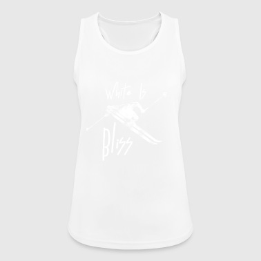 White Is Bliss - Women's Breathable Tank Top