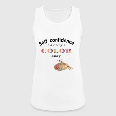 self confidence self-confidence - Women's Breathable Tank Top