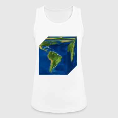 earth - Women's Breathable Tank Top