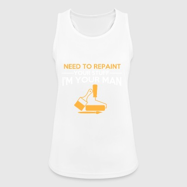 painter - Women's Breathable Tank Top