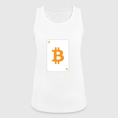 Bitcoin playing card - Women's Breathable Tank Top