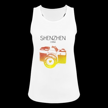 China, Shenzhen - Women's Breathable Tank Top