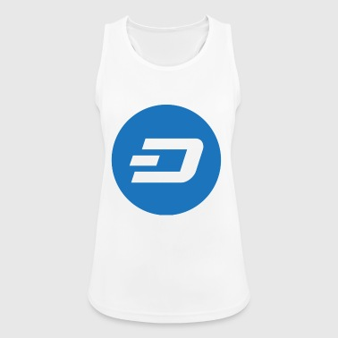 Dash Coin Logo - Women's Breathable Tank Top