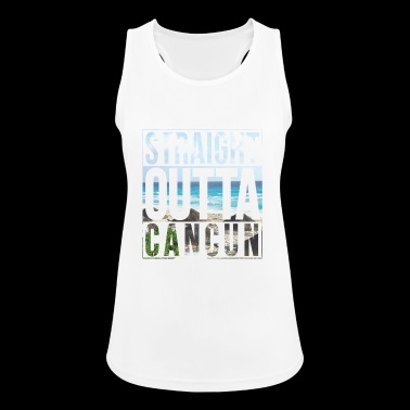 Straight outta Cancun - Women's Breathable Tank Top