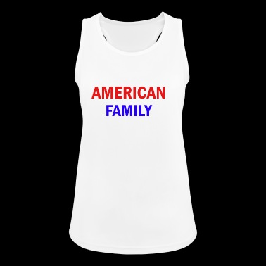 American Family - Vrouwen tanktop ademend