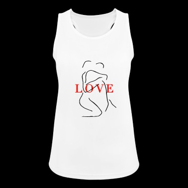 Love couple - Women's Breathable Tank Top