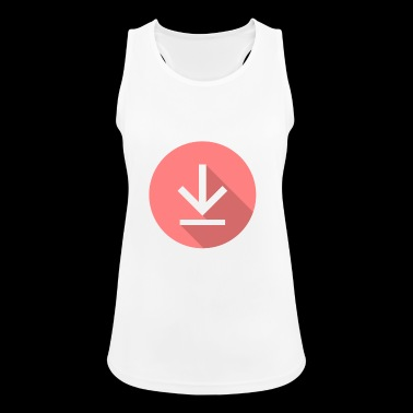 Download icoon, icon Downloads - Vrouwen tanktop ademend