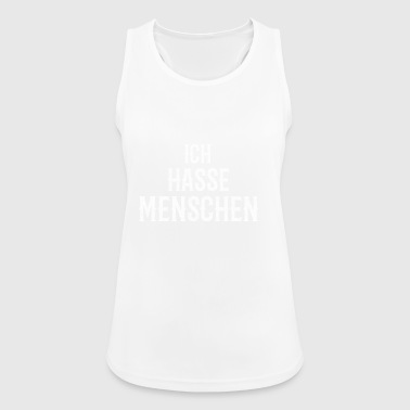 I hate people funny humor - Women's Breathable Tank Top