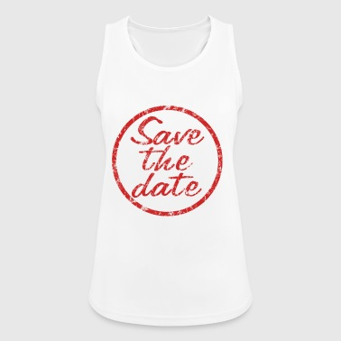 Save the date stamp - Women's Breathable Tank Top
