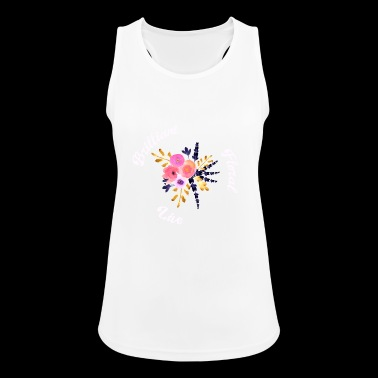 Brilliant floral - Frauen Tank Top atmungsaktiv