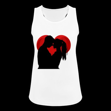 Loving Couple - Women's Breathable Tank Top