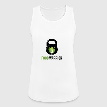 FoodWarrior Official Logo - Women's Breathable Tank Top