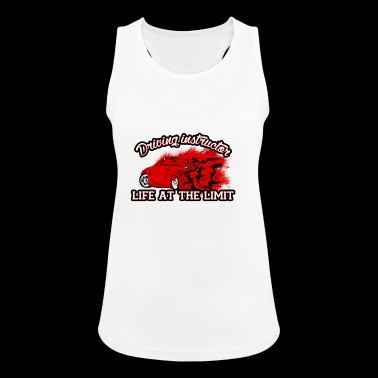 Driving instructor driving school car gift driving license - Women's Breathable Tank Top