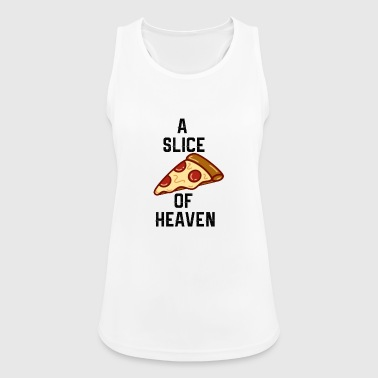 A Slice of Heaven - Quote - Women's Breathable Tank Top
