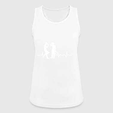 Cowboys Heartbeats Gifts T-shirt - Women's Breathable Tank Top