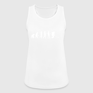 Evolution to Ice Hockey Player T-Shirt Gift - Women's Breathable Tank Top