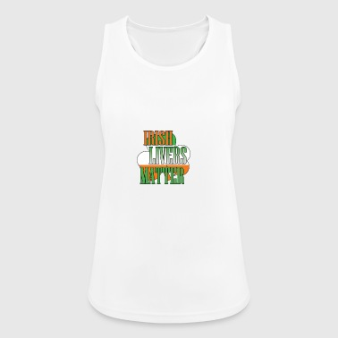 Irish Livers Matter - Women's Breathable Tank Top