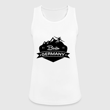 Berlin, Germany - Women's Breathable Tank Top