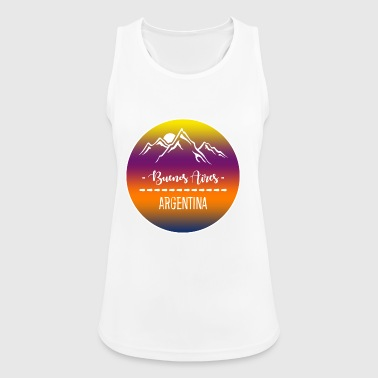 Buenos Aires, Argentina - Women's Breathable Tank Top