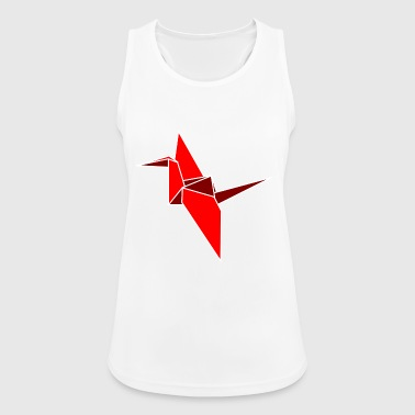 origami paper plane paper airplane45 - Women's Breathable Tank Top