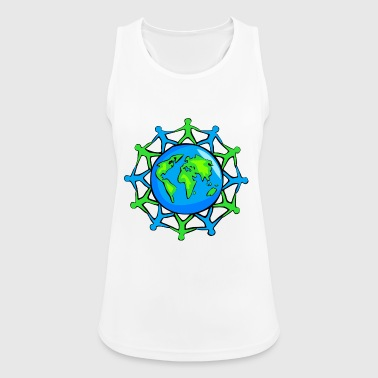World Community - Pustende singlet for kvinner