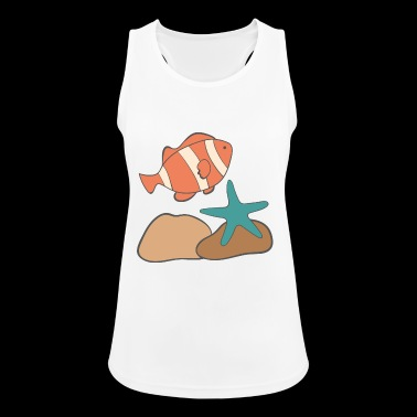 under water - Women's Breathable Tank Top