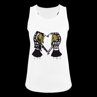 Queen - Queen - Partnerlook - BFF - BGF - Geschenk - Frauen Tank Top atmungsaktiv