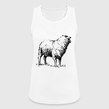 sheep - Women's Breathable Tank Top