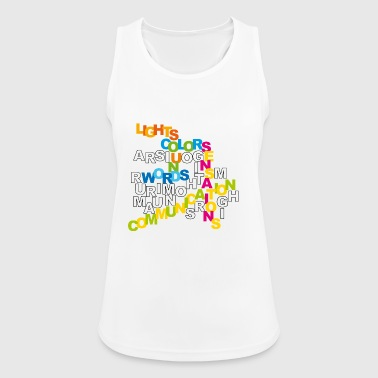 communication - Women's Breathable Tank Top